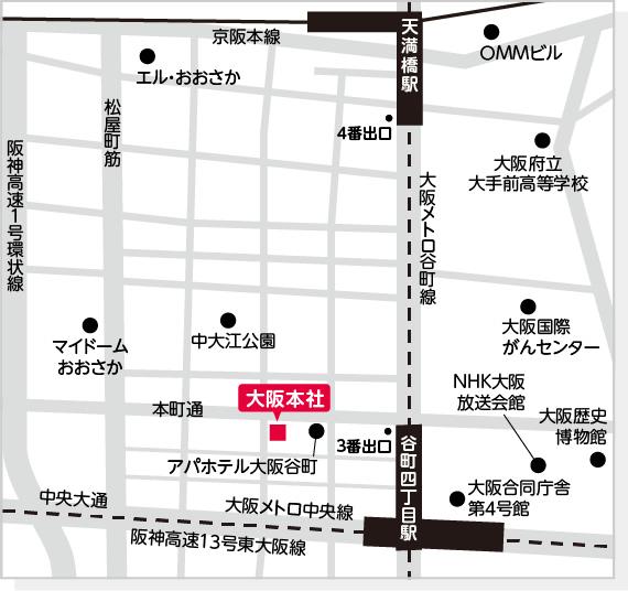 株式会社キャリアリンク本社 周辺地図
